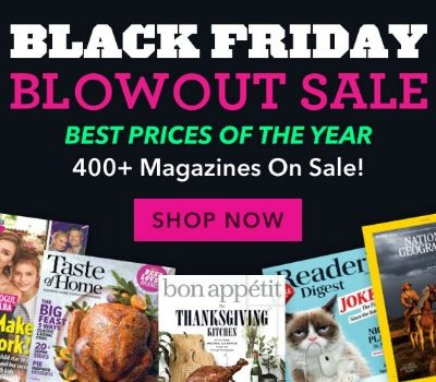 DiscountMags Black Friday Blowout Sale
