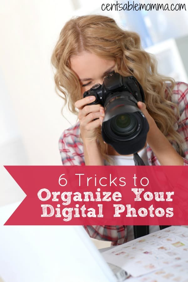 You have years worth of digital photos stored on your computer, and every time you want to print or share a photo you spend extra time finding it!  Check out these 6 tricks to organize your digital photos for some tips to make it easier to find that picture next time!