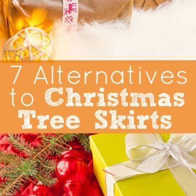 7 Alternatives to Christmas Tree Skirts