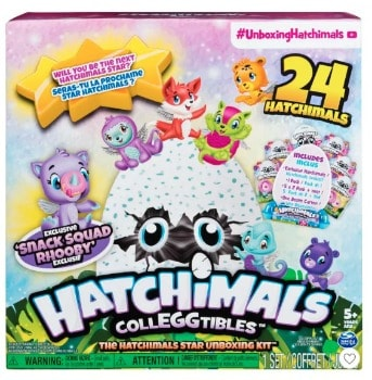 Hatchimals CollEGGtibles Star Unboxing Kit (24 ct.): $9.99 (50% off)