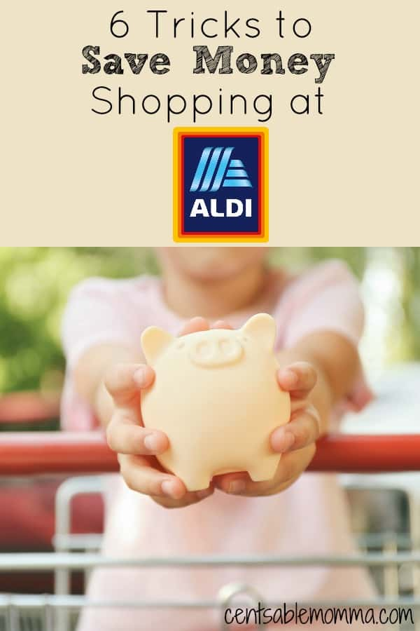You want to save money on groceries, but you REALLY don't want to deal with clipping coupons and organizing them! Check out these 6 tricks for saving money by shopping at Aldi - no coupons needed (or even allowed!).