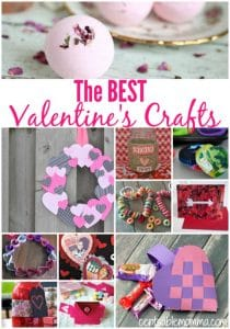 Create some fun for Valentine's Day with this huge list of the best Valentine's crafts. There are craft ideas for both adults and kids.