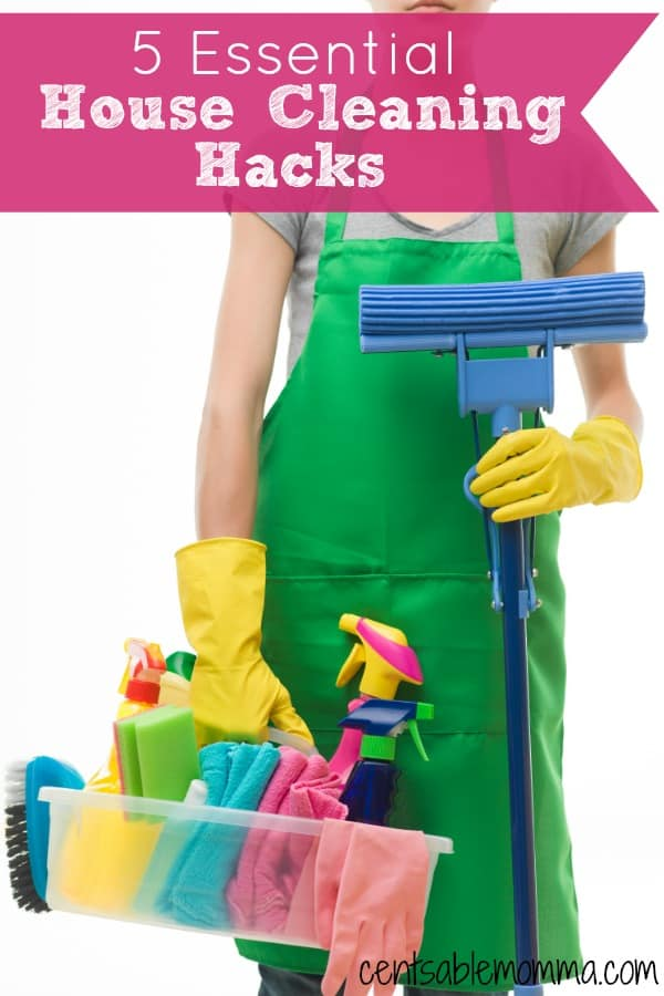 In the mood to spring clean your house? Check out these 5 essential House Cleaning Hacks to help make your job just a little bit easier.