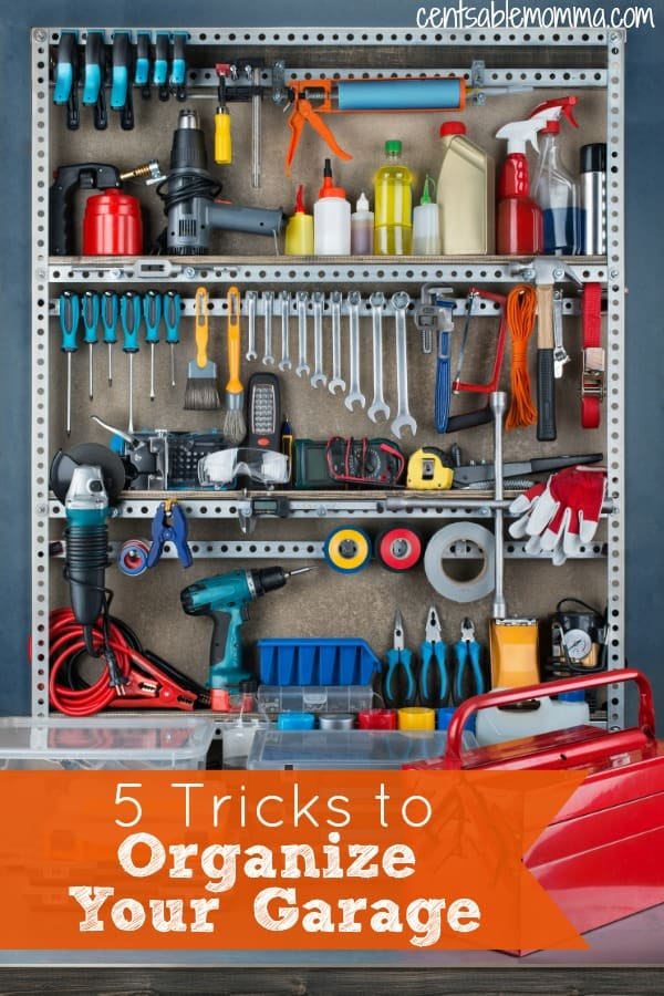 You want an organized garage, but it just feels too intimidating to get it into shape. Check out these 5 Tricks to Organize Your Garage with tips on how to break down the process into smaller pieces, so one day you may even be able to park a car in your garage!