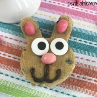 Chocolate Chip Easter Bunny Cookie Recipe