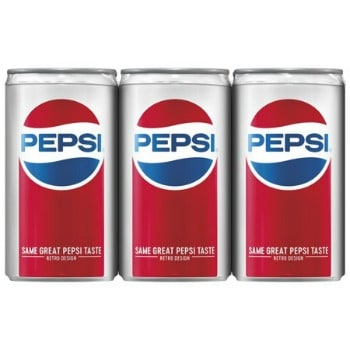image relating to Red Bull Printable Coupons referred to as Printable Coupon: $0.50 off Pepsi Mini Cans + Walmart Package deal