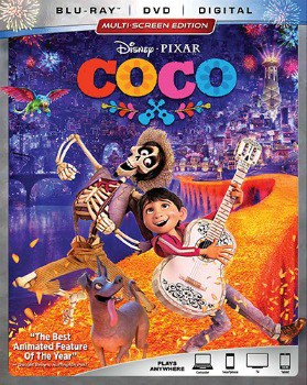 Coco Blu-ray/DVD Combo: $19 (52% off)+ FREE In-store Pickup