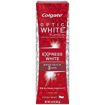 Colgate Optic White Platinum Toothpaste (3 oz. Sample): FREE after Credit