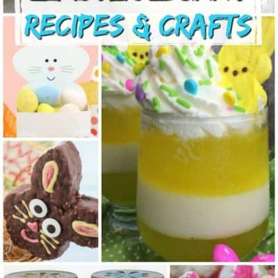 Easter Bunny Recipes & Craft Ideas