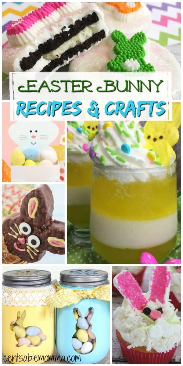 Create some Easter bunny fun this year with these great Easter Bunny recipe and craft ideas.