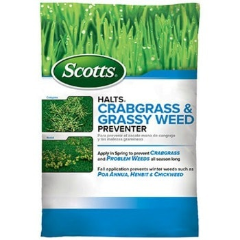 Scotts Crabgrass & Grassy Weed Preventer (5,000 sq ft.): $13.48 (16% off) + FREE Shipping