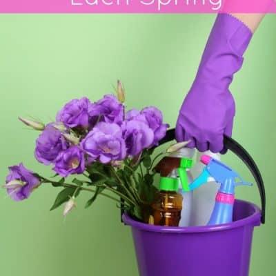 8 Things You Should Deep Clean Each Spring