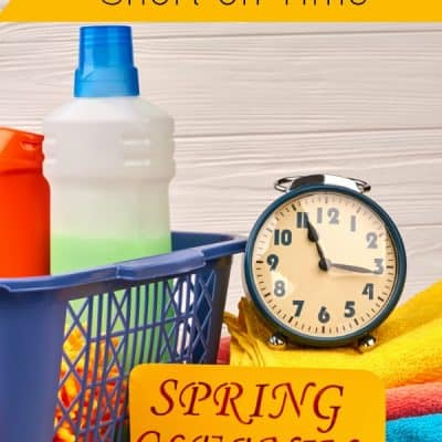 How to Spring Clean When You're Short on Time