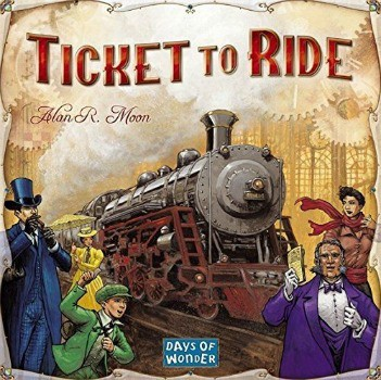 Ticket To Ride Game: $24.99 (50% off) + FREE Shipping