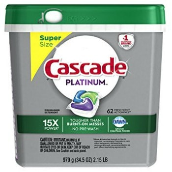 graphic about Cascade Coupons Printable referred to as Printable Coupon: $4 off Cascade ActionPacs Dishwasher