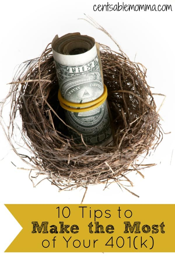 You want to make sure you have enough funds for your retirement years, but a 401(k) can be confusing.  Check out these 10 tips for how to make the most of your 401(k) for some ideas on how to best save for retirement.