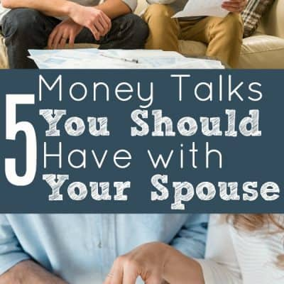 5 Money Talks You Should Have With Your Spouse