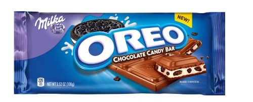 if you love oreos as much as we do in our family youll love the new oreo chocolate candy bars you can get them in the original vanilla flavor