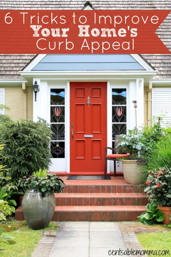 Whether you want to sell your house or just want it to look better, check out these 6 tricks to improve your home's curb appeal without spending a ton of money.