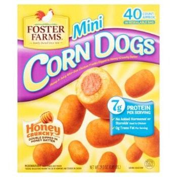 Printable Coupon: $0.75 off Foster Farms Corn Dogs + Walmart Deal