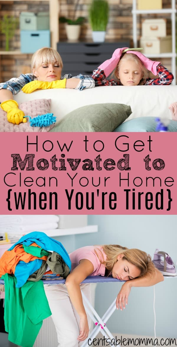 Your home needs to be cleaned no matter how busy you may be. However, your desire to clean may be low if you're tired. Check out these 6 tips for how to get motivated to clean your home even when you're tired.