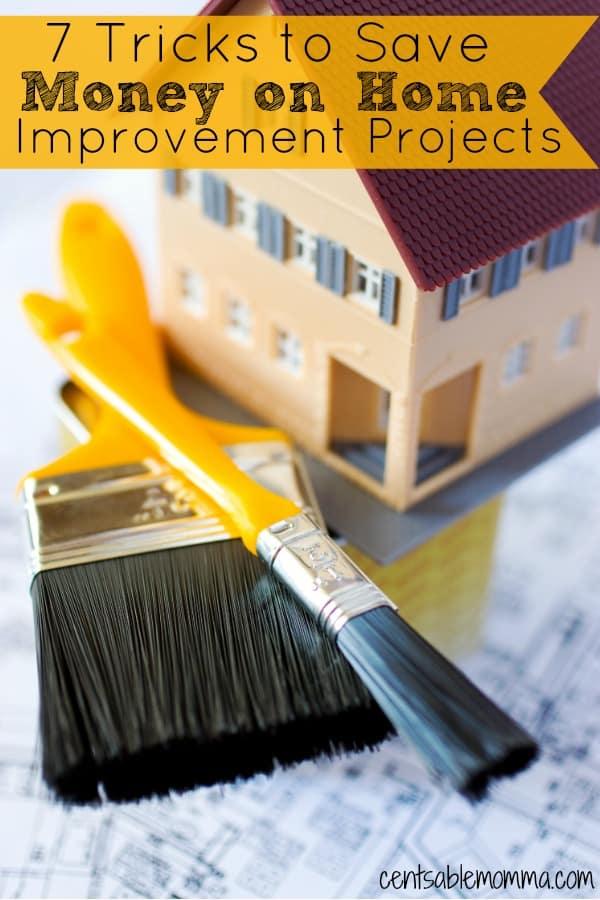 Fixing up and making improvements to your house doesn't have to cost a fortune. Check out these 7 tricks to save money on home improvement projects for some tips on how to stay under budget.