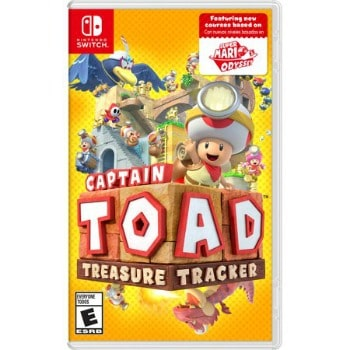 Captain Toad: Treasure Tracker Switch Video Game: $29.99 (25% off)
