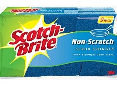 Scotch-Brite Scrub Sponges (9 ct.): $5.29 + FREE Shipping