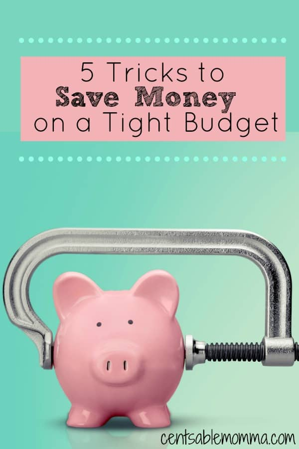 If you don't have a lot of money left over at the end of the month, it can be difficult to even begin thinking about saving money for a rainy day! But, it's necessary. Check out these 5 tricks to save money on a tight budget for some ideas to build your savings.