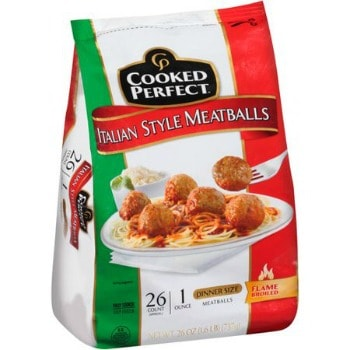Printable Coupon: $0.75 off Cooked Perfect Meatballs + Walmart Deal