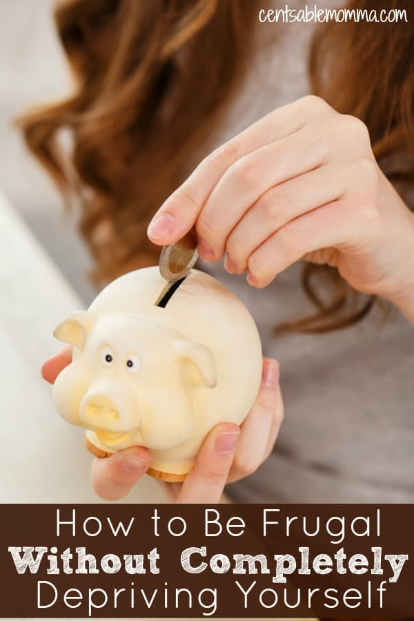 You want to pay off debt and save money, but it's so difficult to live on so little all the time! Check out these 5 tricks for how to be frugal (and spend less) without completely depriving yourself so you don't quit.