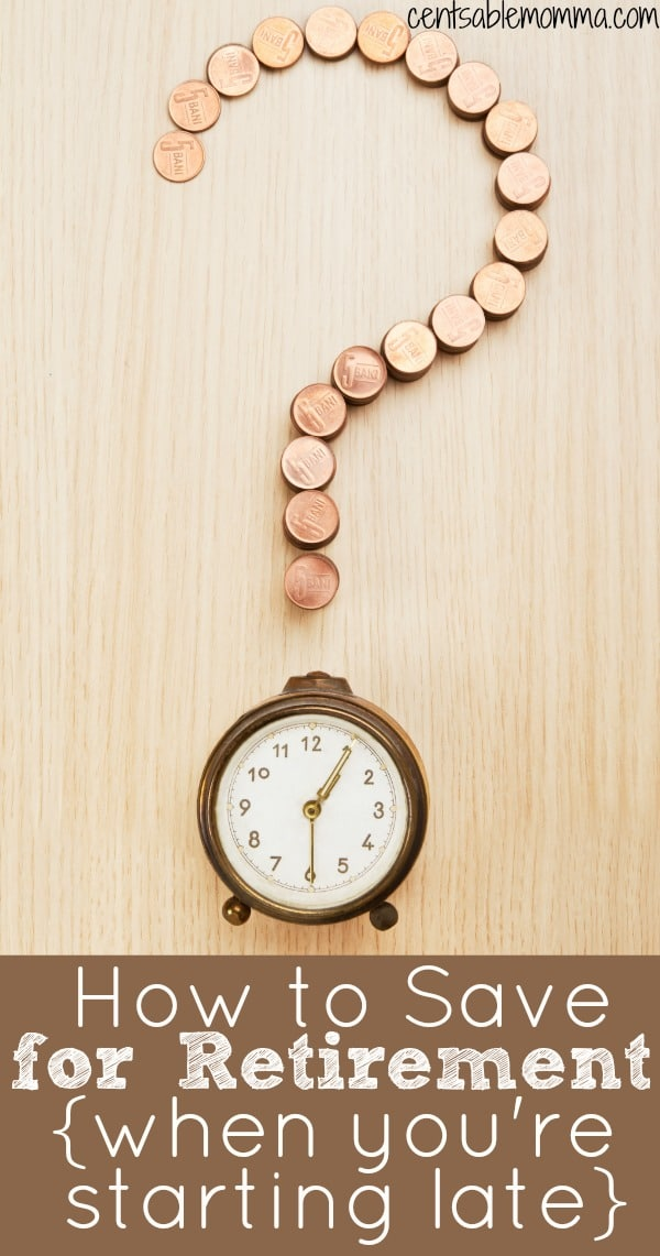 You know you need to save money for retirement, but you haven't gotten around to it yet. Is it too late? No, it's not! Check out these 6 tips for how to save for retirement when you're starting late in life.