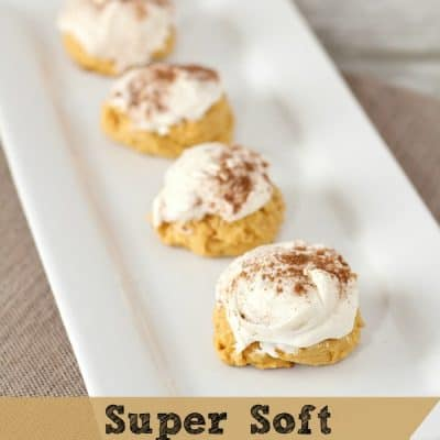 Super Soft Pumpkin Cookies Recipe