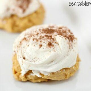 Super Soft Pumpkin Cookies Recipe