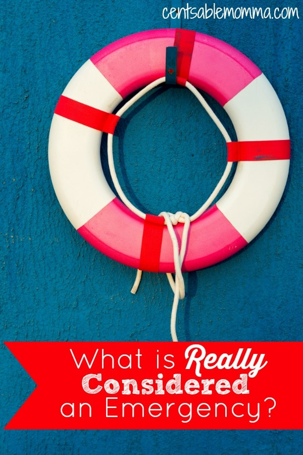 What is really considered an emergency (and thus a good use of your emergency fund)? Find out when to use your emergency fund and when to use a sinking fund for known (but intermittent) expenses.