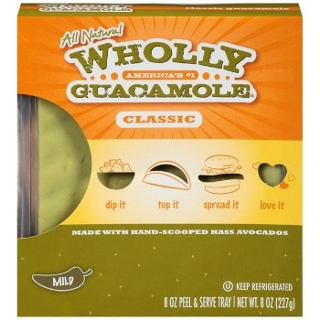 Printable Coupon: $0.75 off Wholly Guacamole + Kroger Deal