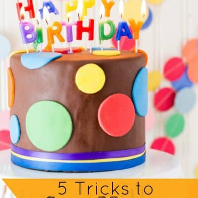 5 Tricks to Save Money on a Kid's Birthday Party