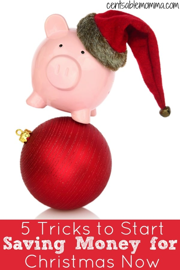 Christmas comes at the end of December every year. But, other expenses and savings goals may have distracted you from saving for Christmas gifts and activities. But, it's not too late! Check out these 5 tricks to start saving money for Christmas now for some tips on gathering some extra money for the holidays.
