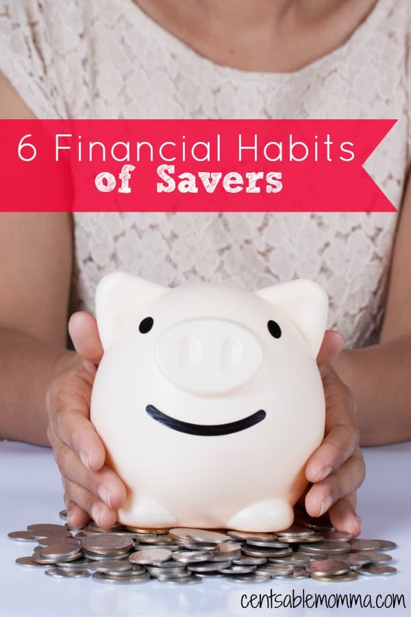 You wish that you could save more money, but think it's just not possible for ordinary people. That's not true! Check out these 6 financial habits of savers (hint...they don't necessarily have a large income).