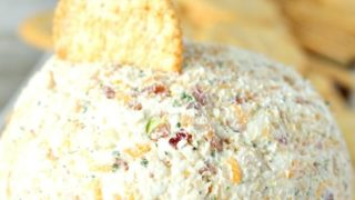 Easy Chicken Bacon Ranch Cheeseball
