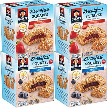 Quaker Breakfast Squares Variety Pack (4 ct.): $7.74 + FREE Shipping
