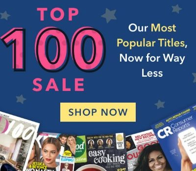 DiscountMags: Top 100 Magazine Sale
