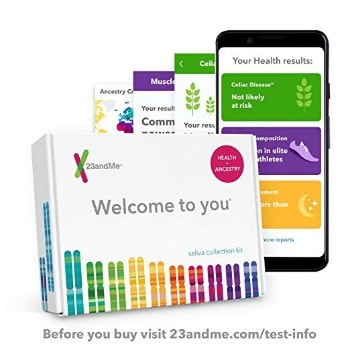 23andMe DNA Test – Health + Ancestry: $99.99 (67% off) + FREE Shipping