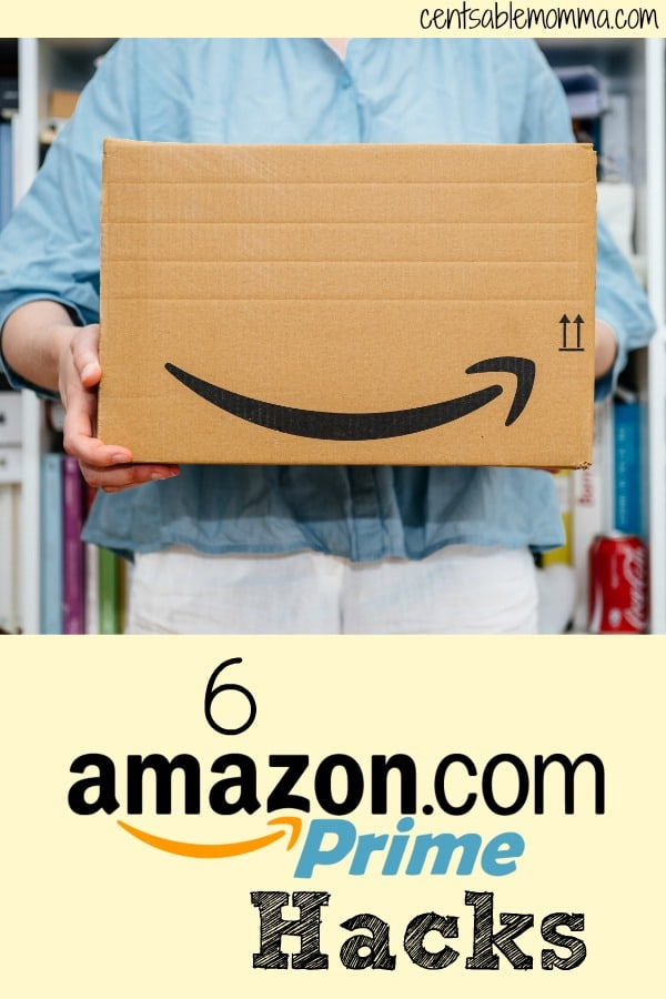 If you shop at Amazon, check out these 6 Amazon Prime Hacks - from getting a trial membership to sharing your benefits, and more.