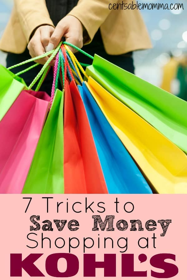Kohl's is a great place to shop and find some great deals on gifts, appliances, and clothing, but you can get even better deals when you use these 7 Tricks to Save Money Shopping at Kohl's.