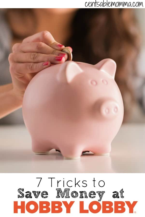 Hobby Lobby has a great selection of crafts and home decor items, but you don't want to break your budget shopping there. Check out these 7 tricks to save money shopping at Hobby Lobby.