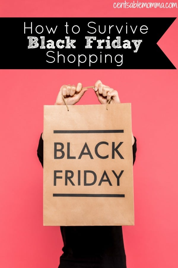 Black Friday shopping can be hectic and crazy! But, it doesn't have to be - especially with these 7 tricks for how to survive Black Friday shopping.