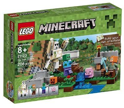 LEGO Minecraft The Iron Golem: $9.09 (55% off) + FREE Shipping