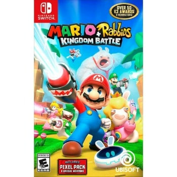 Mario + Rabbids Kingdom Battle Switch Video Game: $19.99 (67% off) + FREE Shipping