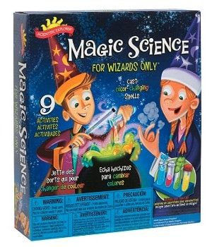 Scientific Explorer Magic Science for Wizards Only Kit: $7.99 (67% off) + FREE Shipping